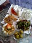 Images of Israel :Israeli Breakfast