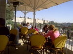 Images of Israel: Lunch with a view of the Old City