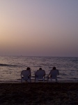 Images of Israel: Sunset on the Beach in Tel Aviv