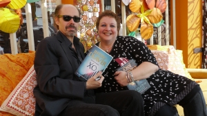 This is moi with Jeffery Deaver