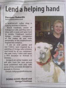 This article appeared in the Northcliff Melville Times