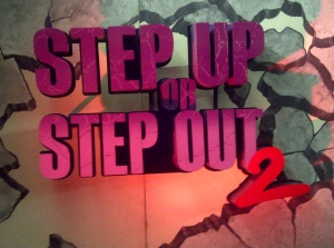 Catering the publicity party for Step Up or Step Out