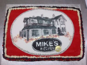 Helping Mike's Kitchen celebrate 25 years !