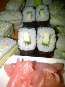 Our Fabulous sushi