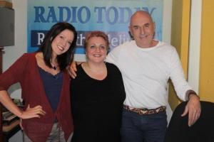 Pics from the Radio Today interview with Michael De Pinna and Carolyn Steyn