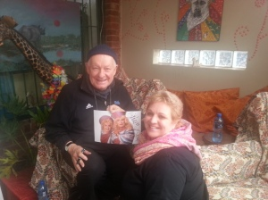 Pieter Dirk Uys at Indulgence Cafe
